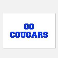 Cougars-Fre blue Postcards (Package of 8)