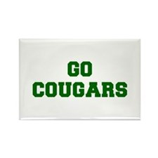 Cougars-Fre dgreen Magnets