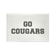 COUGARS-Fre gray Magnets