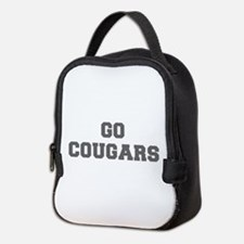 COUGARS-Fre gray Neoprene Lunch Bag