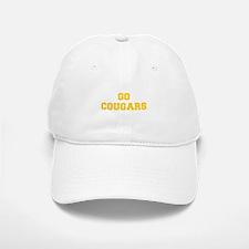 Cougars-Fre yellow gold Baseball Baseball Baseball Cap