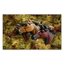 Horse Trio Decal