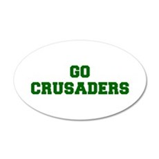 Crusaders-Fre dgreen Wall Decal