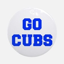 Cubs-Fre blue Ornament (Round)