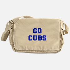 Cubs-Fre blue Messenger Bag