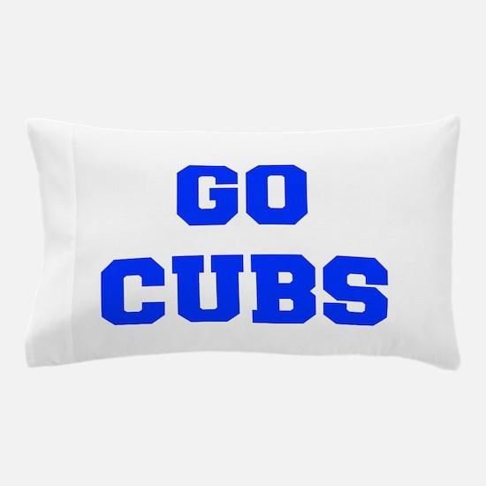 Cubs-Fre blue Pillow Case