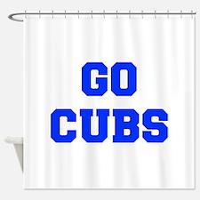 Cubs-Fre blue Shower Curtain