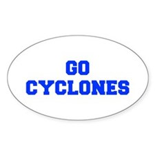 Cyclones-Fre blue Decal