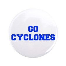 "Cyclones-Fre blue 3.5"" Button (100 pack)"