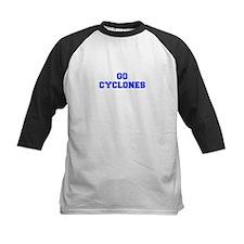 Cyclones-Fre blue Baseball Jersey