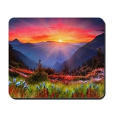 High Country Sunset Mousepad
