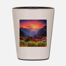 High Country Sunset Shot Glass