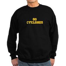 Cyclones-Fre yellow gold Sweatshirt