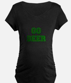 Deer-Fre dgreen Maternity T-Shirt