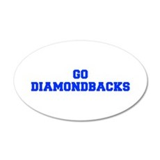 diamondbacks-Fre blue Wall Decal