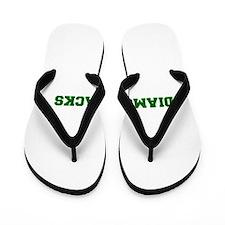 diamondbacks-Fre dgreen Flip Flops
