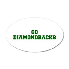 diamondbacks-Fre dgreen Wall Decal