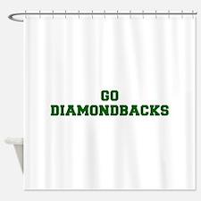 diamondbacks-Fre dgreen Shower Curtain