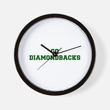 diamondbacks-Fre dgreen Wall Clock