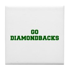 diamondbacks-Fre dgreen Tile Coaster