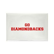 DIAMONDBACKS-Fre red Magnets