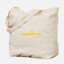 diamondbacks-Fre yellow gold Tote Bag