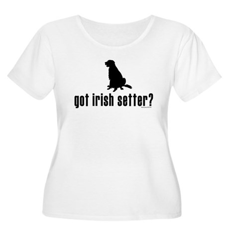 got irish setter? Women's Plus Size Scoop Neck T-S