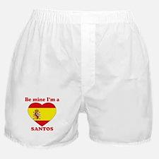 Santos, Valentine's Day Boxer Shorts