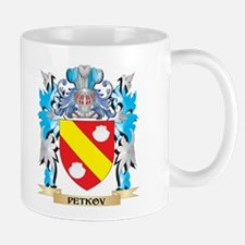 Petkov Coat of Arms - Family Crest Mugs