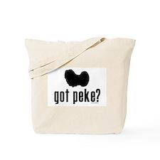 got peke? Tote Bag