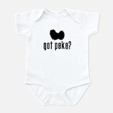 got peke? Infant Bodysuit