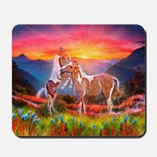 High Country Horses Mousepad