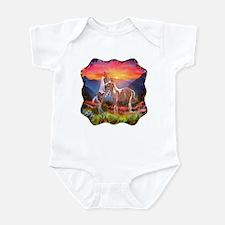 High Country Horses Infant Bodysuit