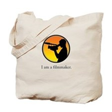 i am a filmmaker Tote Bag
