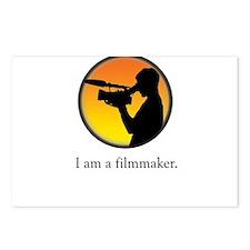 i am a filmmaker Postcards (Package of 8)