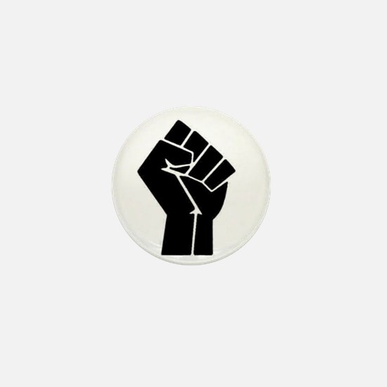 Black Power Mini Button