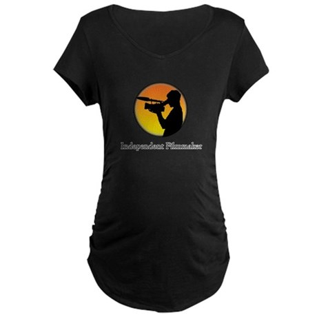 Indie filmmaker Maternity Dark T-Shirt