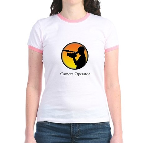 Camera operator Jr. Ringer T-Shirt