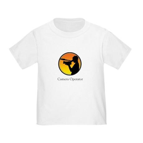 Camera operator Toddler T-Shirt