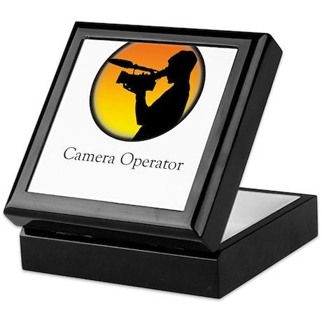 Camera operator Keepsake Box