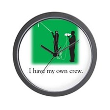 Have my own crew Wall Clock