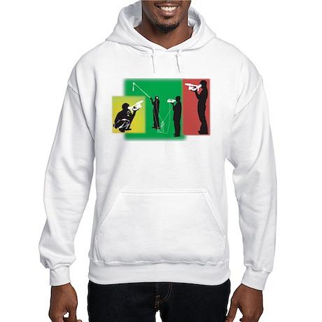 Plain Video Hooded Sweatshirt