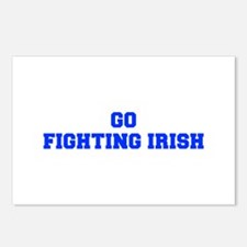 Fighting Irish-Fre blue Postcards (Package of 8)