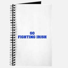Fighting Irish-Fre blue Journal