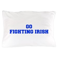 Fighting Irish-Fre blue Pillow Case
