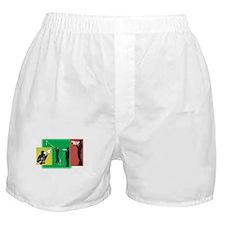 Plain Video Boxer Shorts