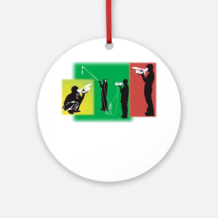 Plain Video Ornament (Round)