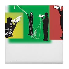 Plain Video Tile Coaster