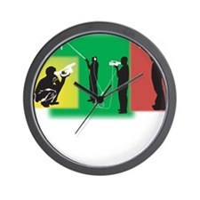 Plain Video Wall Clock