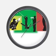 Plain Video Wall Clock